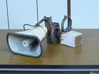 圖貳-10 高聲電話室外揚聲機