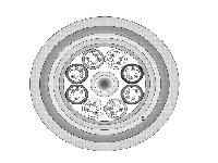 圖貳-4 光纜剖面圖