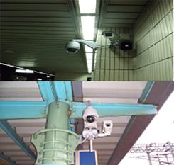 圖貳-37 車站錄影監控系統攝影機