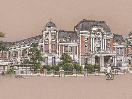明信片-台南州廳圖片共1張