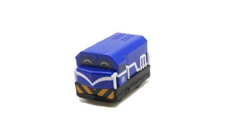 R100藍色車頭迴力車圖片共3張