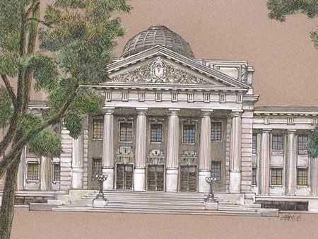 明信片-台灣總督府博物館
