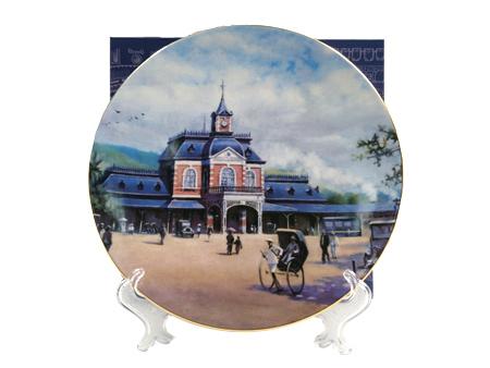 瓷盤-基隆車站圖片共1張