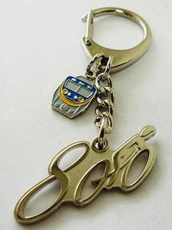 EMU800造型鑰匙圈圖片共3張