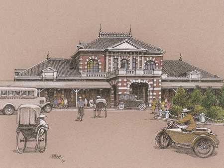 明信片-台北驛