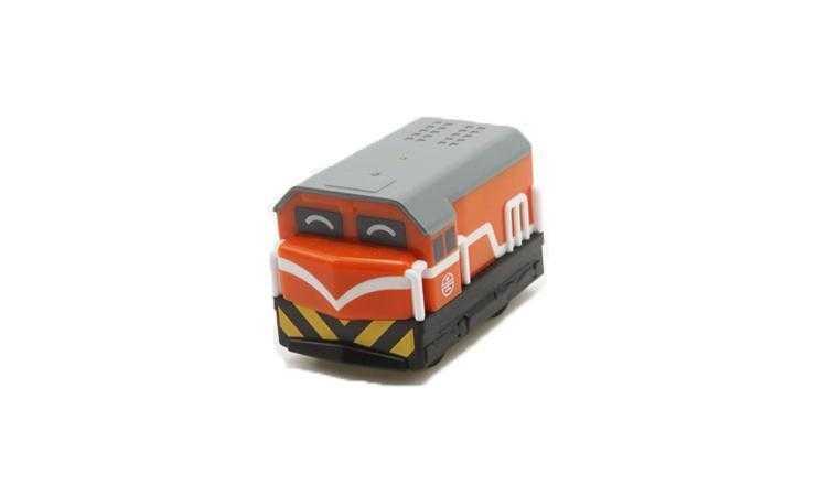 R100橘色車頭迴力車圖片共1張