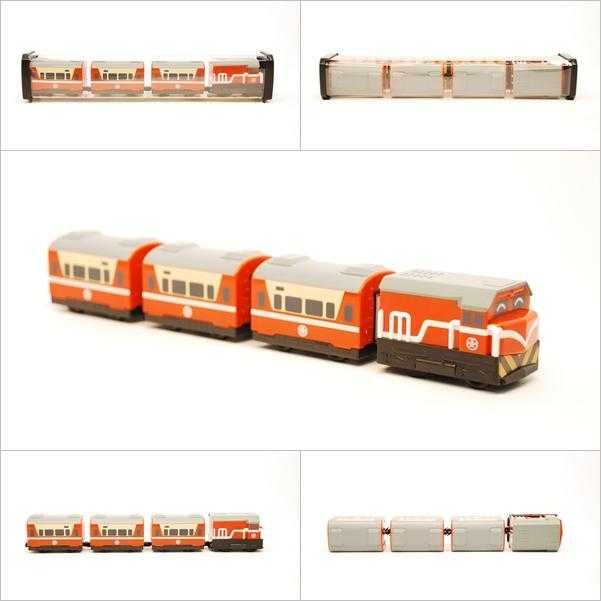 R100(橘)莒光號列車組圖片共1張