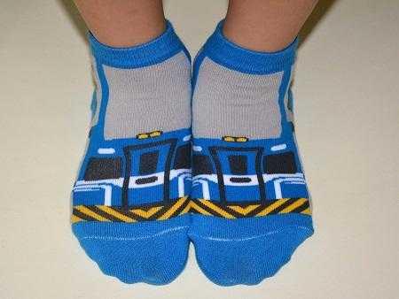 區間車童襪