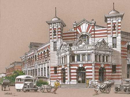 明信片-台南郵便局圖片共1張