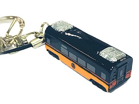 鳴日號車廂鑰匙圈吊飾