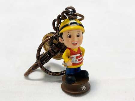 台鐵人物鑰匙圈-工務員