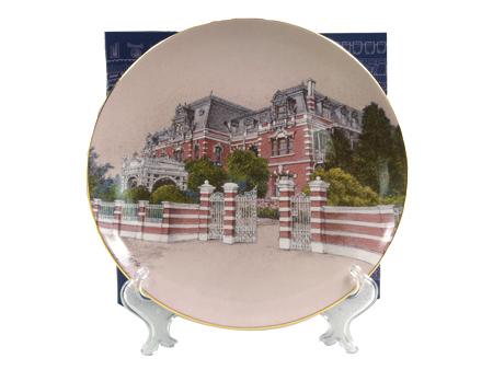 瓷盤-台灣鐵道飯店圖片共1張