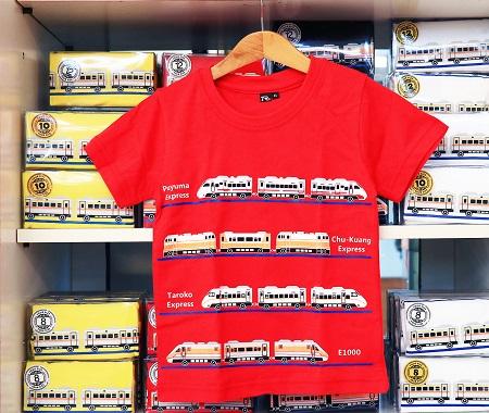 童裝火車收藏T(紅)圖片共2張
