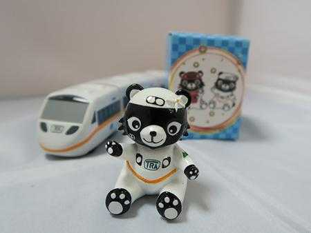 臺鐵餐旅熊公仔圖片共3張